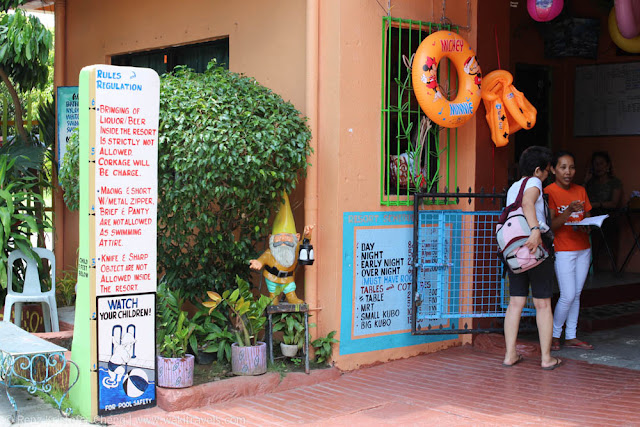 Entrance of Casa Elum Resort