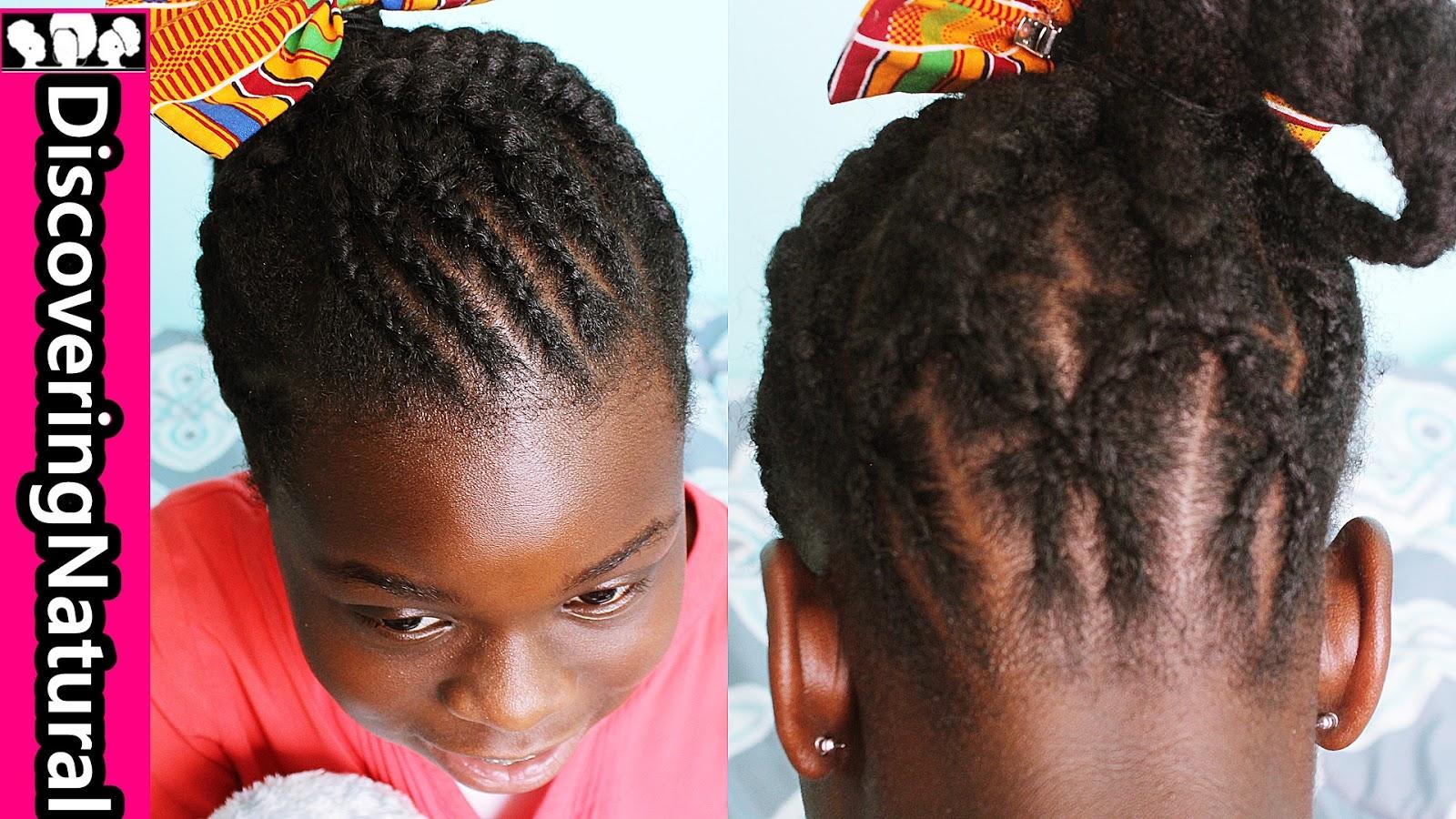 Discoveringnatural Natural Hair Kids Hairstyle Big And Small