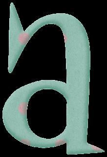 Abecedario con puntos. Alphabet with Dots.