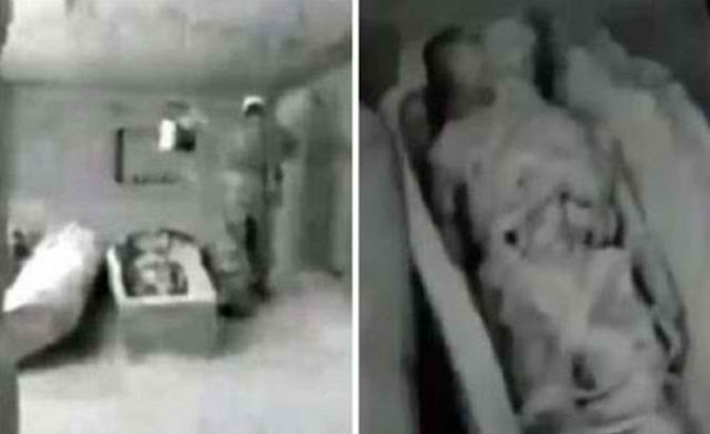 Russian Agents Found A Corpse of An Alien God