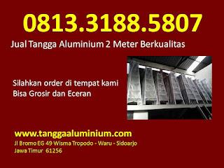 Jual Tangga Aluminium 2 Meter Berkualitas