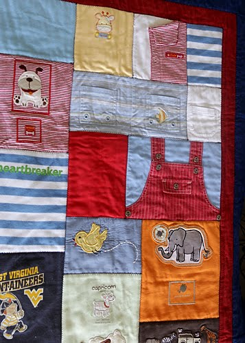 Making Quilt Out Baby Clothes
