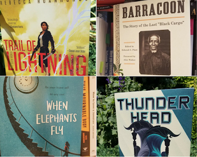 Trail of Lightning, Barracoon, When Elephants Fly, Thunderhead , InToriLex