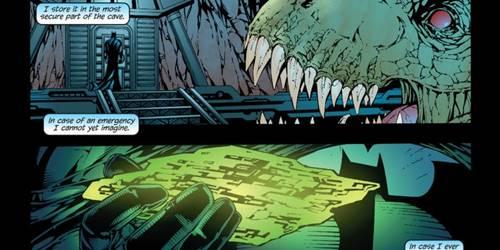 Batcave adalah Markas Rahasia Batman