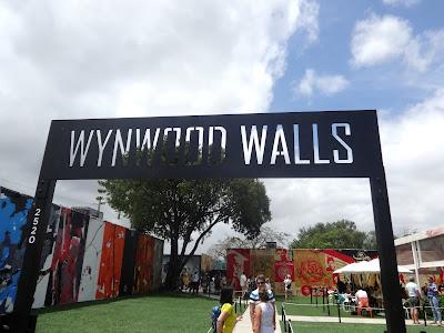 Wynwood Walls graffiti art Miami art walk