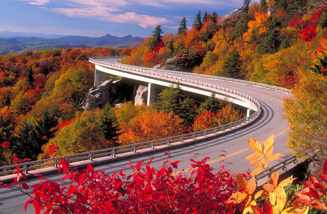 Blue Ridge Parkway, North Carolina/Virginia, USA