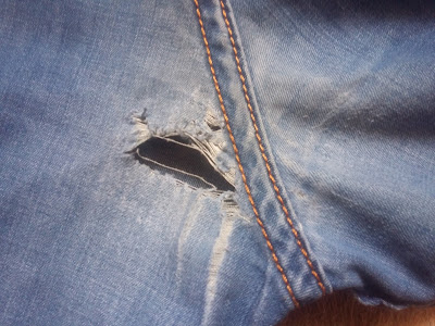 Реставрация джинсов - невозможное возможно