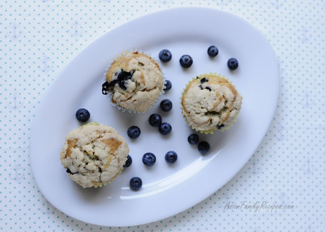 Banana Blueberry Muffin