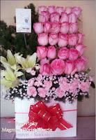Mawar Pink Untuk Hadiah Pacar