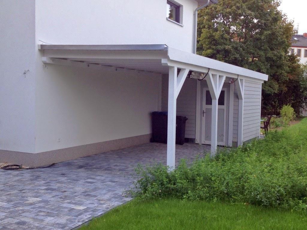 hum 39 s baublog carport fertig gestrichen. Black Bedroom Furniture Sets. Home Design Ideas