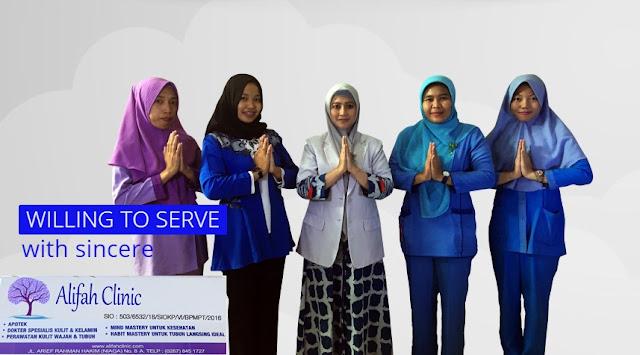 Ada Lowongan Kerja Bagian Customer Services di Alifah Clinic Karawang (Lulusan SMA/SMK/Setara)