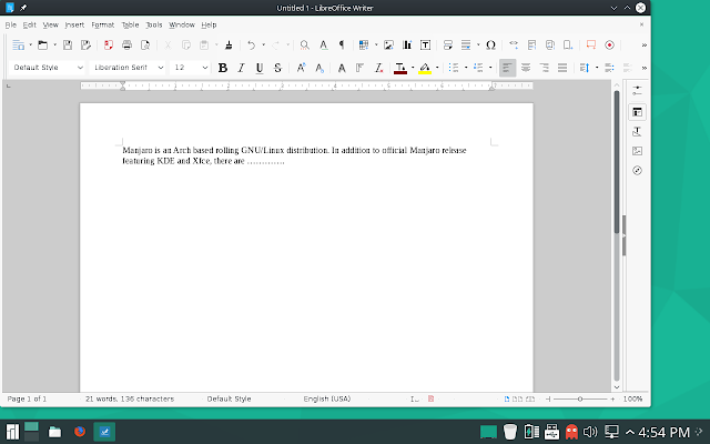 Libreoffice word
