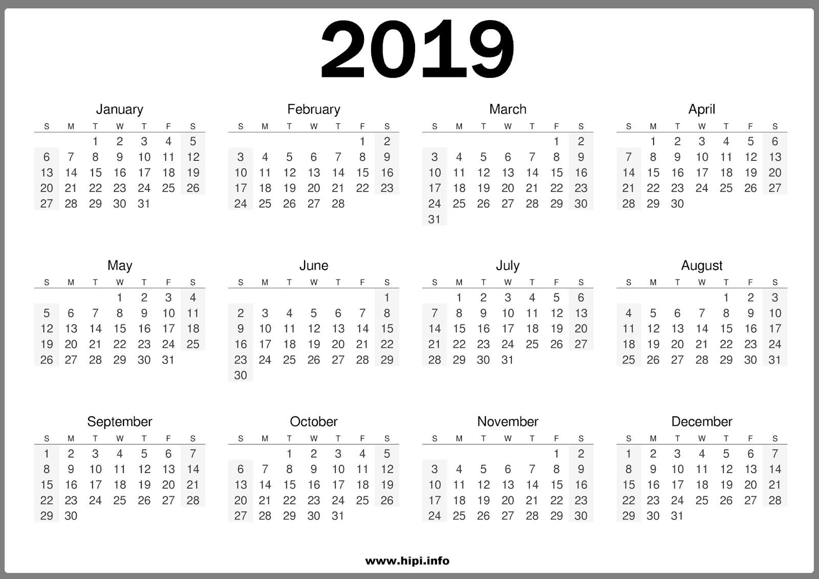 Calendars Printable Twitter Headers Facebook Covers