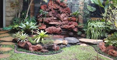 Taman Relief 3D - dekorasi Taman | Jasa Tukang Taman Surabaya IX