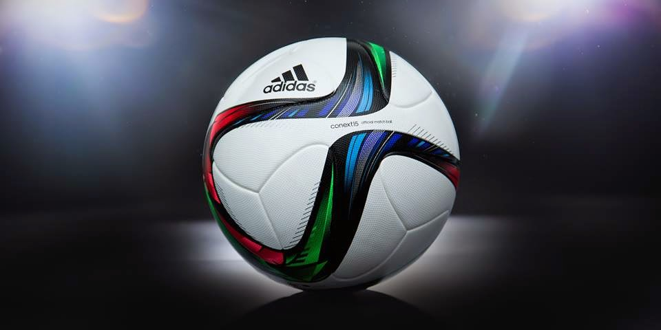 07c8e8affa7b1 adidas reveló hoy el nuevo balón de futbol adidas conext15 Official Match  Ball