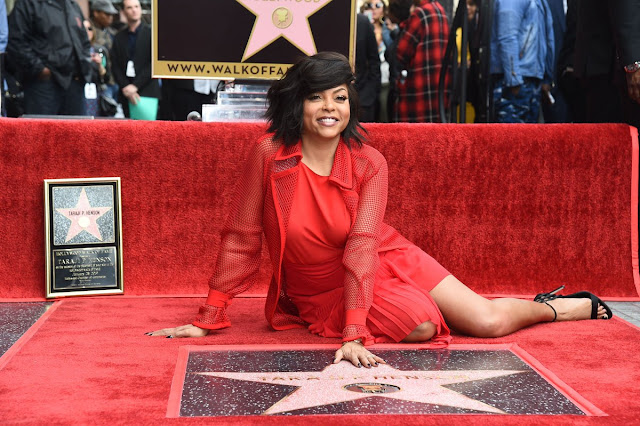 Taraji Penda Henson gets a star on the Hollywood Walk of Fame