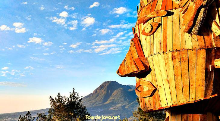 pinokio di puncak pandawa dusun brau batu