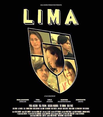 Film Lima telah tayang di bioskop sejak tanggal 31 Mei 2018
