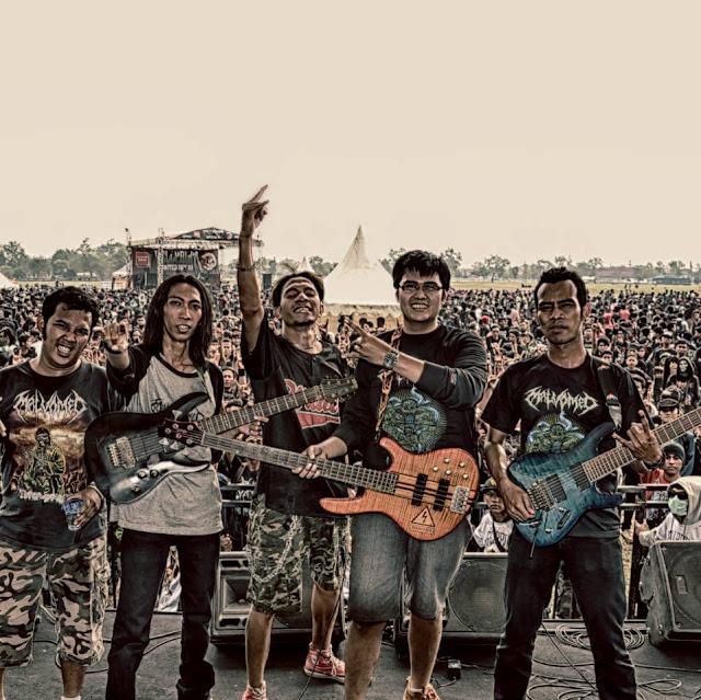 Malvomed, Progressive/Tehcnical Death Metal Band from Indonesia, Malvomed Progressive/Tehcnical Death Metal Band from Indonesia