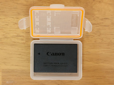 LXH Camera Battery Case Waterproof KingMa SD TF MSD Memory Card Storage Box For Canon EOS 760D 750D M3 Cameras For Canon LP-E17 Battery