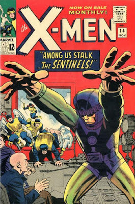 X-Men #14, the Sentinels