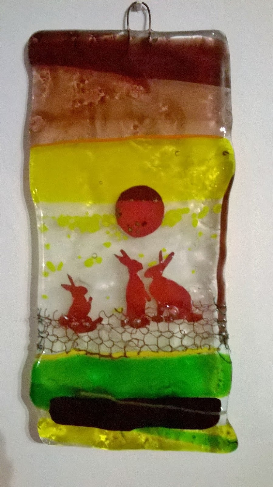 little brick house clayworks: glass fusion experiments