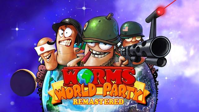 تحميل لعبة حرب الديدان worms world party كاملة للكمبيوتر برابط مباشر ميديا فاير بحجم صغير مضغوطة