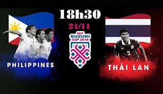 Philippines vs Thailand live Streaming Today 21-11-2018 AFF Suzuki Cup 2018