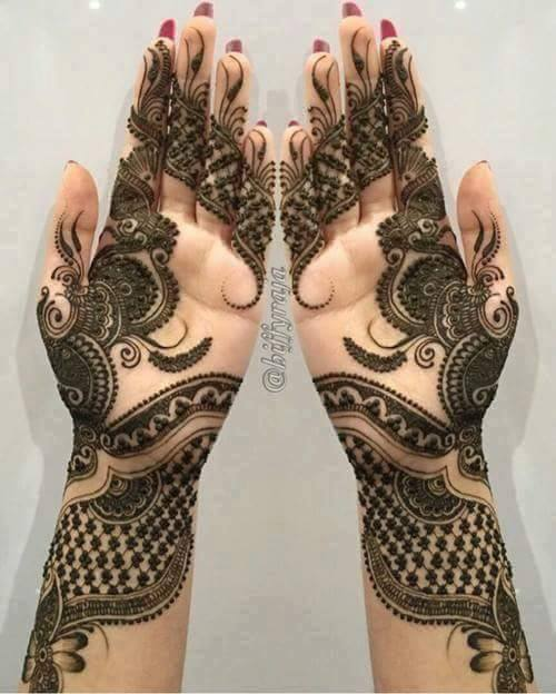 Mehndi Designs Arabic Simple and Easy