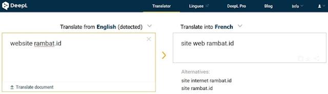 Website Penerjemah Bahasa Terbaik & Akurat - DEPLTranslator