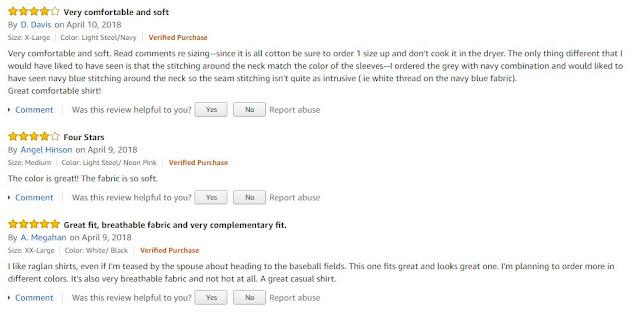 Amazon T Shirts Reviews