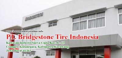 Lowongan Kerja Bridgestone Tire Indonesia Karawang