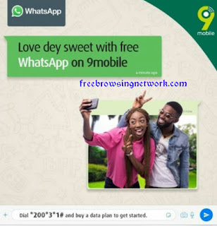 9Mobile Network Offers Free WhatsApp to All Its Customers