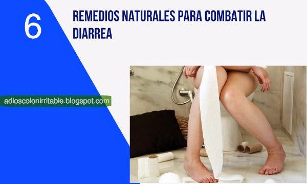 remedios naturales para la diarrea
