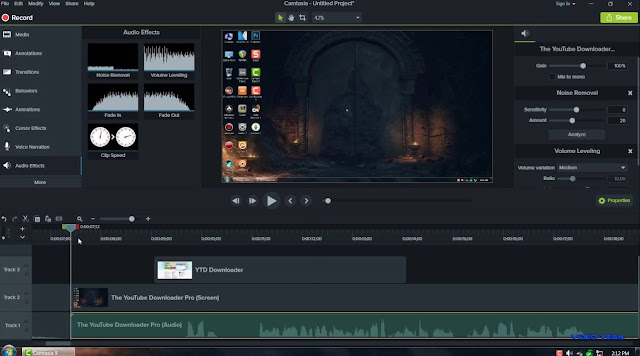 Download Software Recorder Camtasia Studio 9.0.5.2021 Full + Crack Free -- ReddSoft