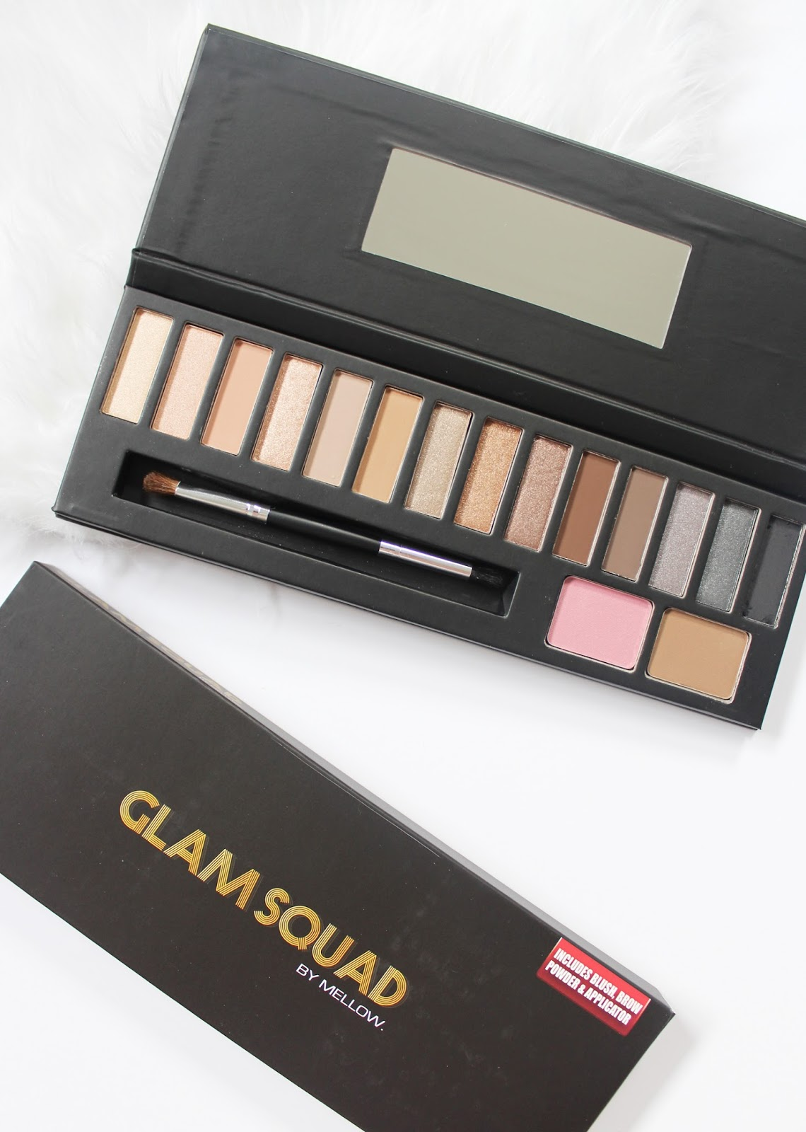 MELLOW COSMETICS | Glam Squad Palette - Review + Swatches - CassandraMyee
