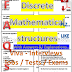 Discrete Mathematical Structures PDF Interview Questions and Answers, FAQs, Concepts, Notes