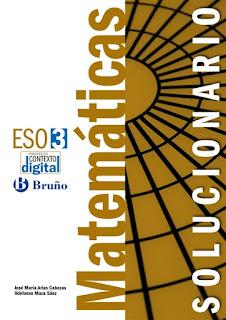 Libro Matemáticas 3º ESO Bruño Proyecto Contexto Digital