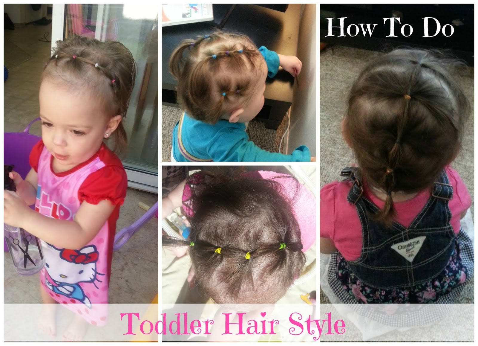 h&h harris family journey: toddler hair style demonstration