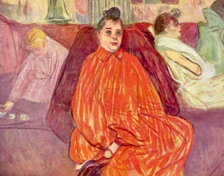 Maison close par Toulouse Lautrec