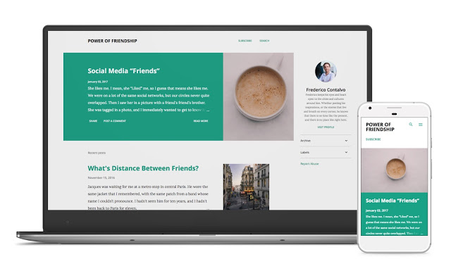 Check out new responsive Blogger themes released by Google!