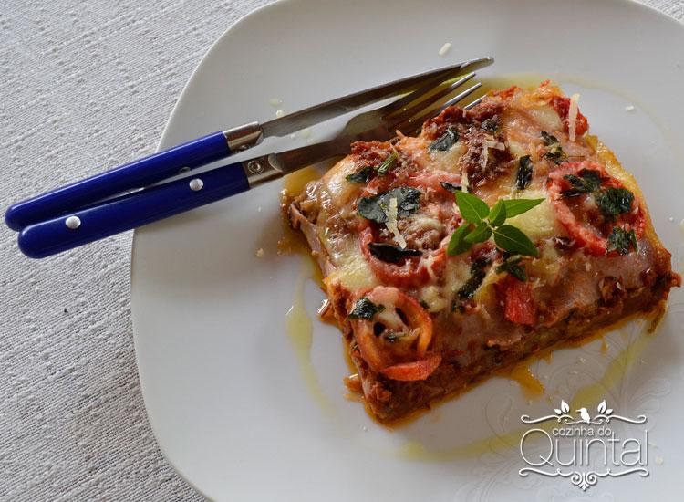 Lasanha de Beringela, uma receita cheia de saudade e sabor! Na Cozinha do Quintal