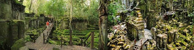 Visiter temples éloignés Beng Melea Kbal Spean Banteay Srei