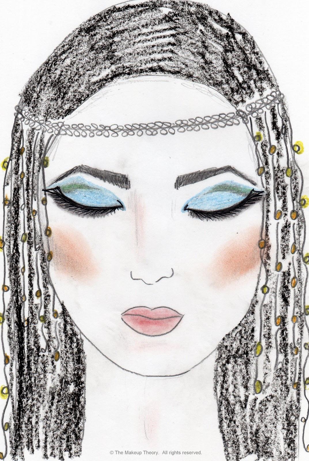 The Makeup Theory Studio: Makeup in History: Egyptian Makeup