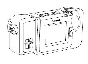 Esquema Elétrico: Casio Digital Camera QV-300 B Service Manual