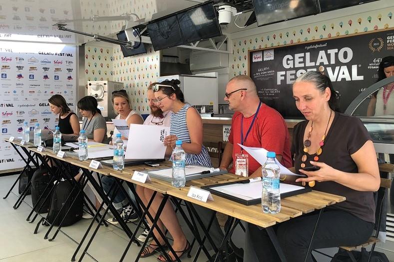 Jury techniczne Gelato Festival w Warszawie
