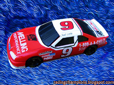 Chad Little #9 Melling Racing Champions 1/64 NASCAR diecast blog 1-800-4-A-CHILD Winston Cup