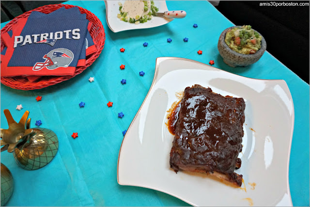 Super Bowl LII: Aperitivos Costillas