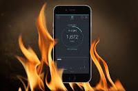 điện thoại của tôi bi nóng lên
