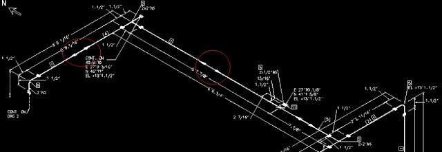 Mengubah Arah Flow Arrow Menjadi Dua Arah pada Isometric Drawing PDMS
